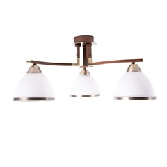 INL-9287C-03 Antique brass & Walnut