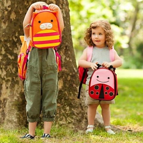Рюкзак детский с поводком Skip Hop Zoo Кошка