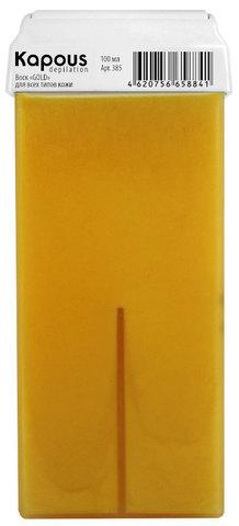 Жирорастворимый воск Gold, 100 мл в картридже Kapous