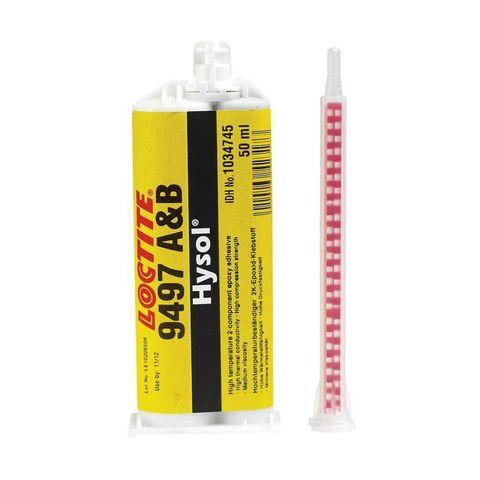 LOCTITE EA 9497 Клей  эпоксидный 2-компонентный теплопроводящий. Высокая температурная стойкость (180 °C)