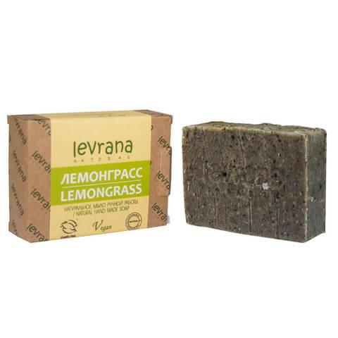Levrana, Натуральное мыло ручной работы Лемонграсс, 100гр