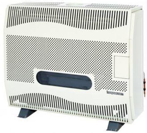 Конвектор газовый напольный - Hosseven HBS-12/1V Fan со стальным теплообменником (12 кВт)