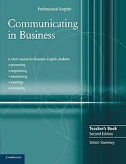 Communicating in Business Second edition Teache...