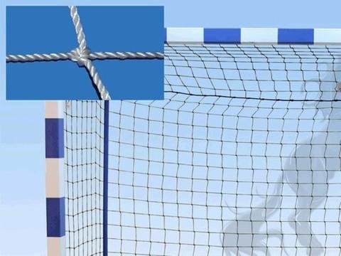 Сетка гандбольная (футзальная) 3D, без гасителя, ширина 3 м, высота 2 м, диаметр нити 2.5 мм, глубина верха 0.8 м, глубина низа 1.0 м: (0000867):