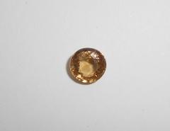 Циркон жёлтый натуральный 8 мм круг