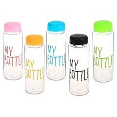 Пластиковая бутылка My Bottle с мешочком, 500 мл