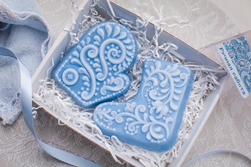 Мыло Ажурная варежка. Пластиковая форма