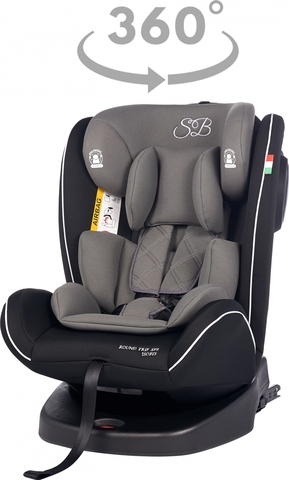 Автомобильное кресло Round Trip SPS Isofix (Grey / Black) sweet baby