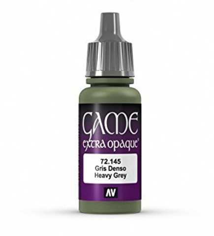 Game Color Heavy Grey 17 ml.
