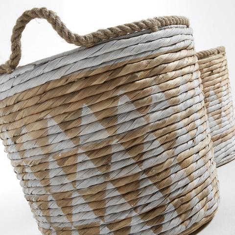 Комплект корзин Maja геометрический узор