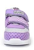 Кроссовки Минни Маус (Minnie Mouse) на липучках для девочек, цвет сиреневый. Изображение 5 из 8.