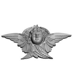 Силиконовый молд № 2020-б Ангел в крыльях большой