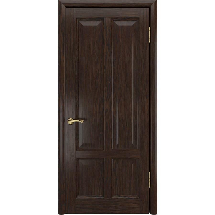 Межкомнатные двери Межкомнатная дверь шпон Luxor Титан 3 дуб морёный глухая titan-3-dg-dub-moreniy-dvertsov.jpg