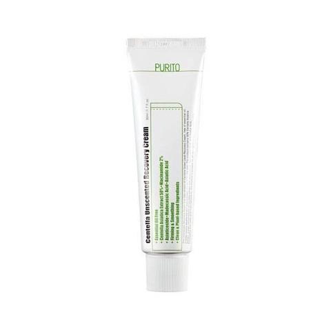Восстанавливающий крем с комплексом центеллы Purito Centella Unscented Recovery Cream