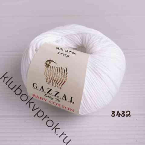 GAZZAL BABY COTTON 3432, Белоснежный