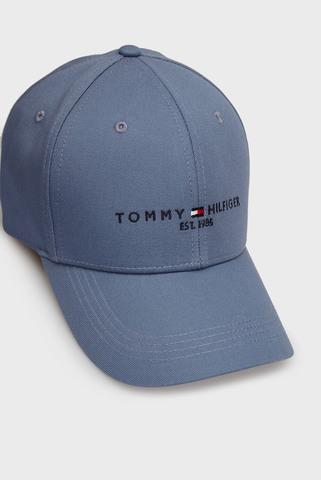 Мужская голубая кепка TH ESTABLISHED CAP Tommy Hilfiger