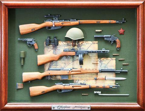 WW2 Russian guns of  Victory!