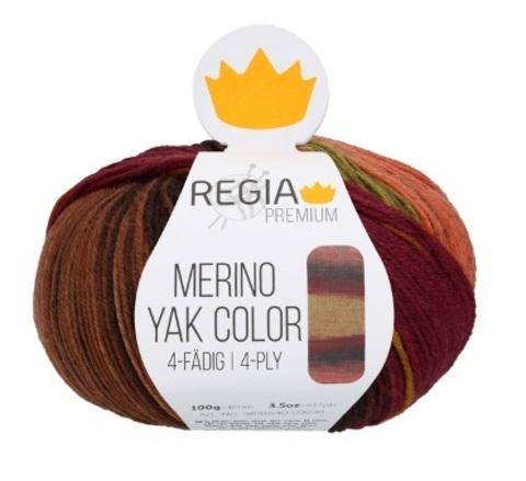 Regia Merino Yak Color купить