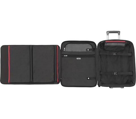 Чемодан Victorinox VX One VX 21, черный, 40x20x55 см, 44 л