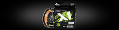 Шнур Favorite X1 PE 4x 150m (orange) #0.5/0.117mm 4.1kg/9lb