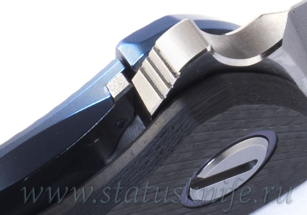 Нож Широгоров Хати Blue Accent Vanadis 10 CF 3D Кастом Дивижн - фотография