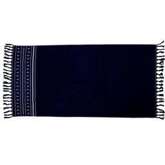 Santorini beach towel / blue