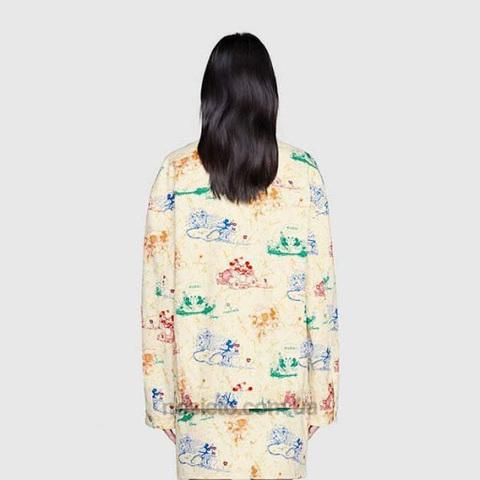 Джинсовая куртка Женская Аналог GUCCI