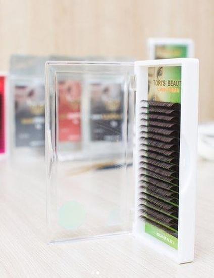 Ресницы для наращивания Toris Beauty (Торис Бьюти)  изгиб D, Корея