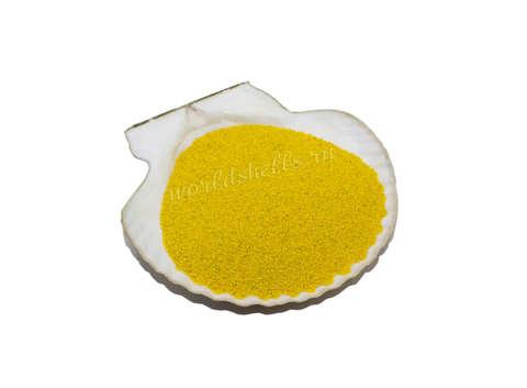 Желтый цветной песок 300 гр.