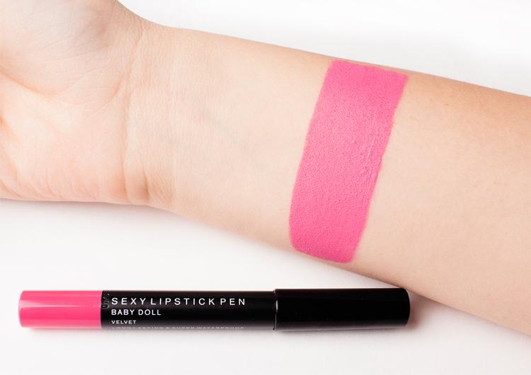 Помада-карандаш Romanovamakeup Sexy Lipstick Pen Velvet Baby Doll