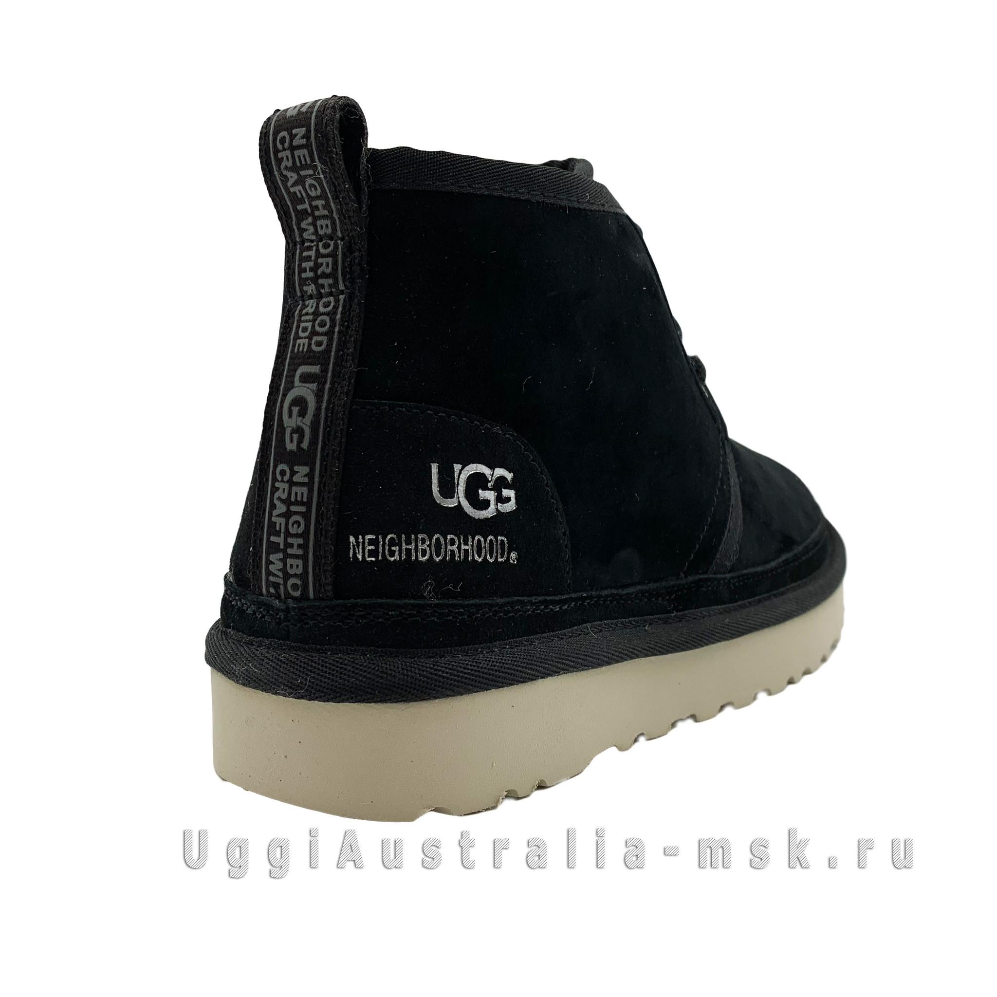UGG X NEIGHBORHOOD NEUMEL BLACK