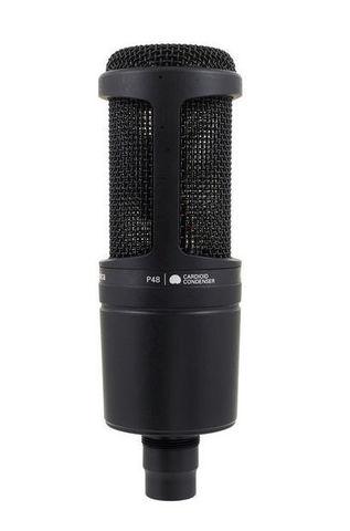 Студийный конденсаторный микрофон Audio-Technica AT2020
