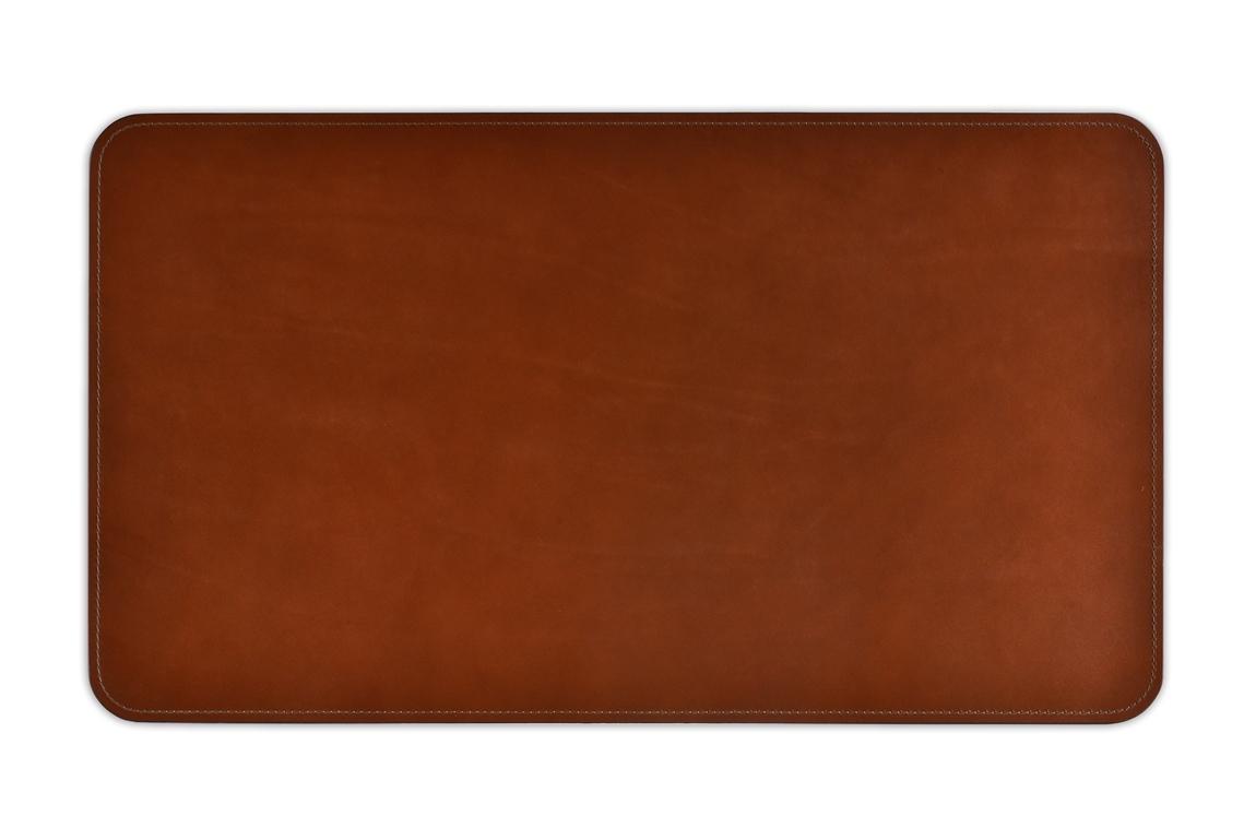 коврик из кожи full grain toscana tan