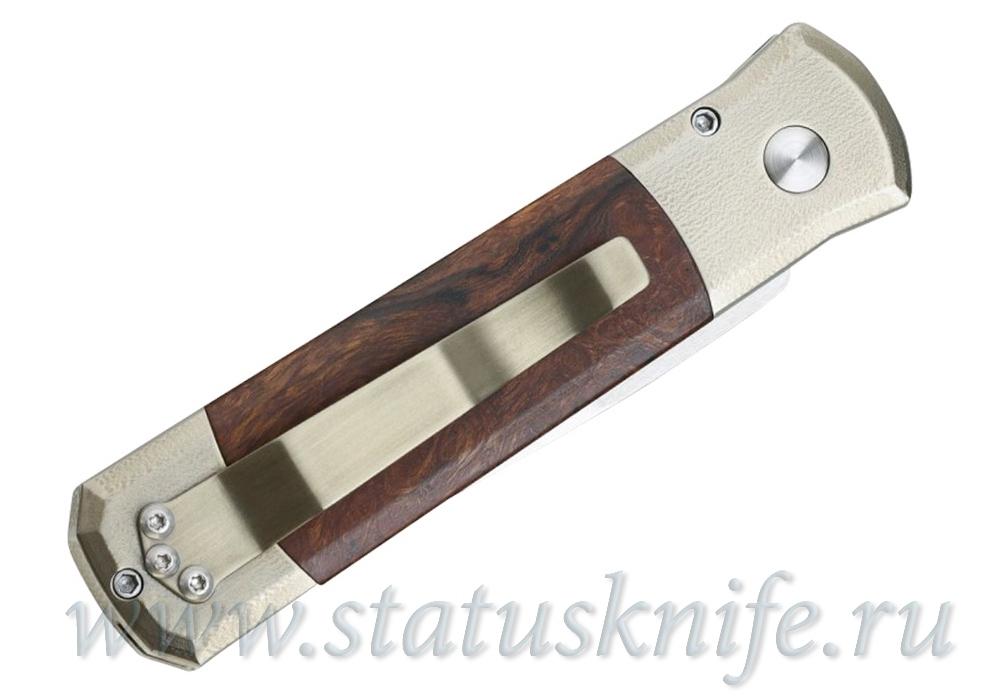 Нож Pro-Tech Custom Godson Ironwood - фотография