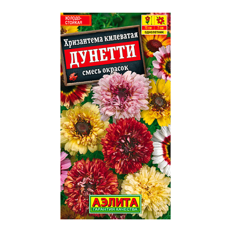 Хризантема Дунетти, смесь окрасок   (Аэлита)