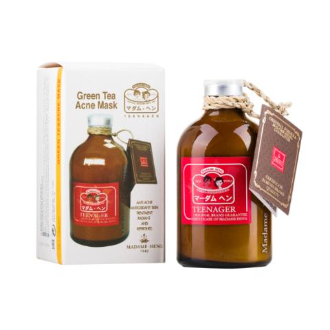 Маска-пудра для проблемной кожи с зеленым чаем Madame Heng. 50 гр.