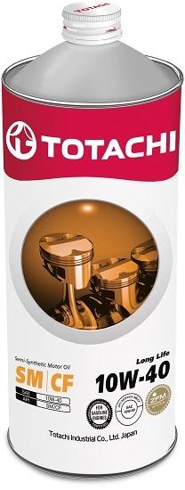 Long Life 10W-40 TOTACHI масло моторное полусинтетическое (1 Литр)