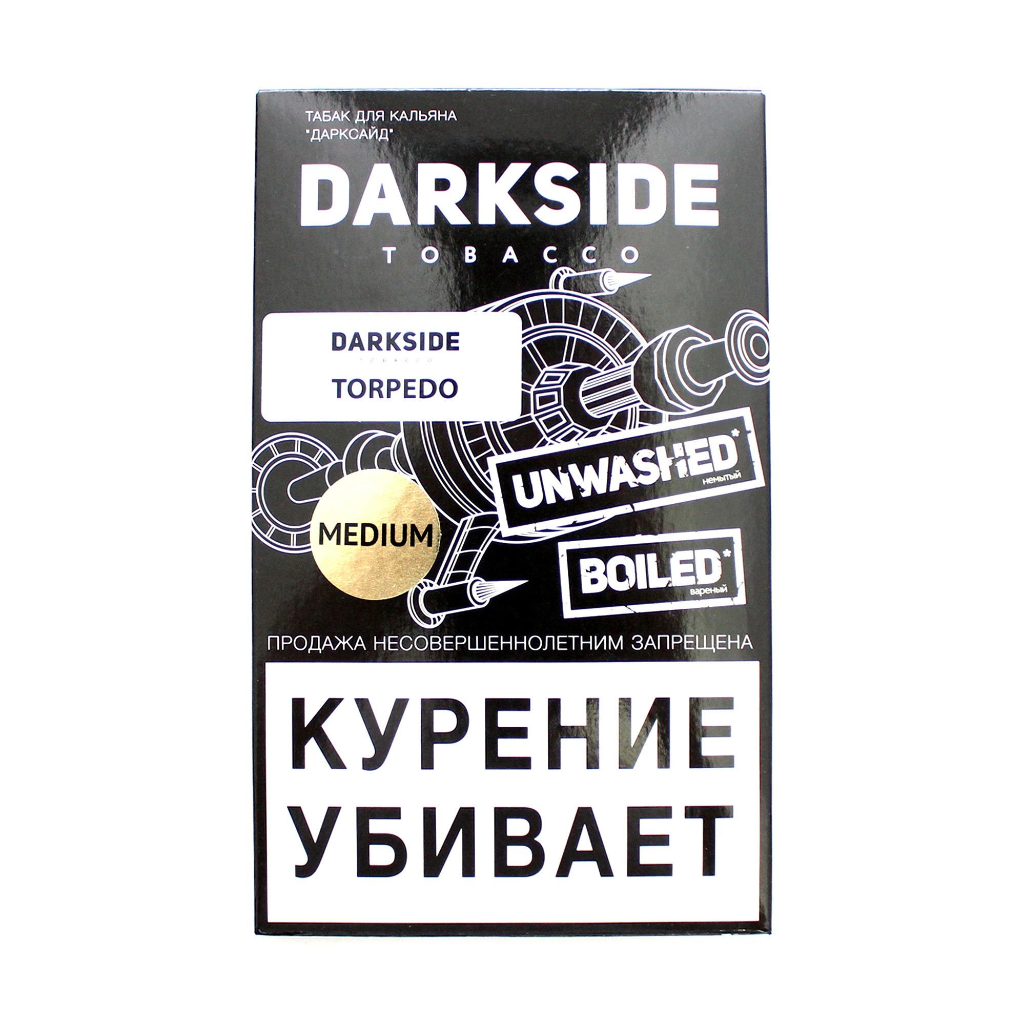 Табак для кальяна Dark Side Medium 100 гр. Torpedo