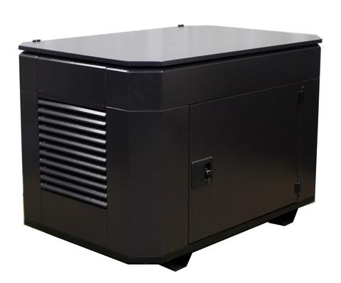 Всепогодный шумозащитный миниконтейнер для генератора, модель SB1400