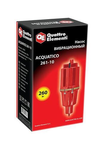 Вибрационный насос QUATTRO ELEMENTI Acquatico 261-10 (260 Вт, 1080 л/ч, для чистой, 60м, к (910-331)