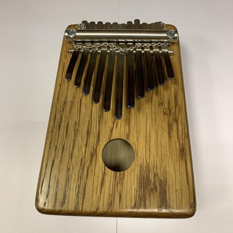 Калимба, дуб, G minor pentatonic, 11 язычков, акустическая большая басс с цепочкой