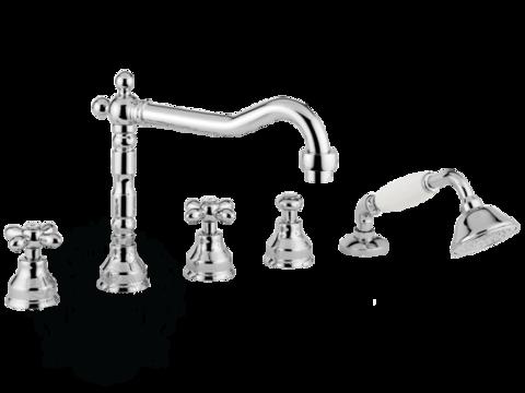 Смеситель на борт ванны на 5 отв. Migliore Princeton Plus ML.PRP-8080