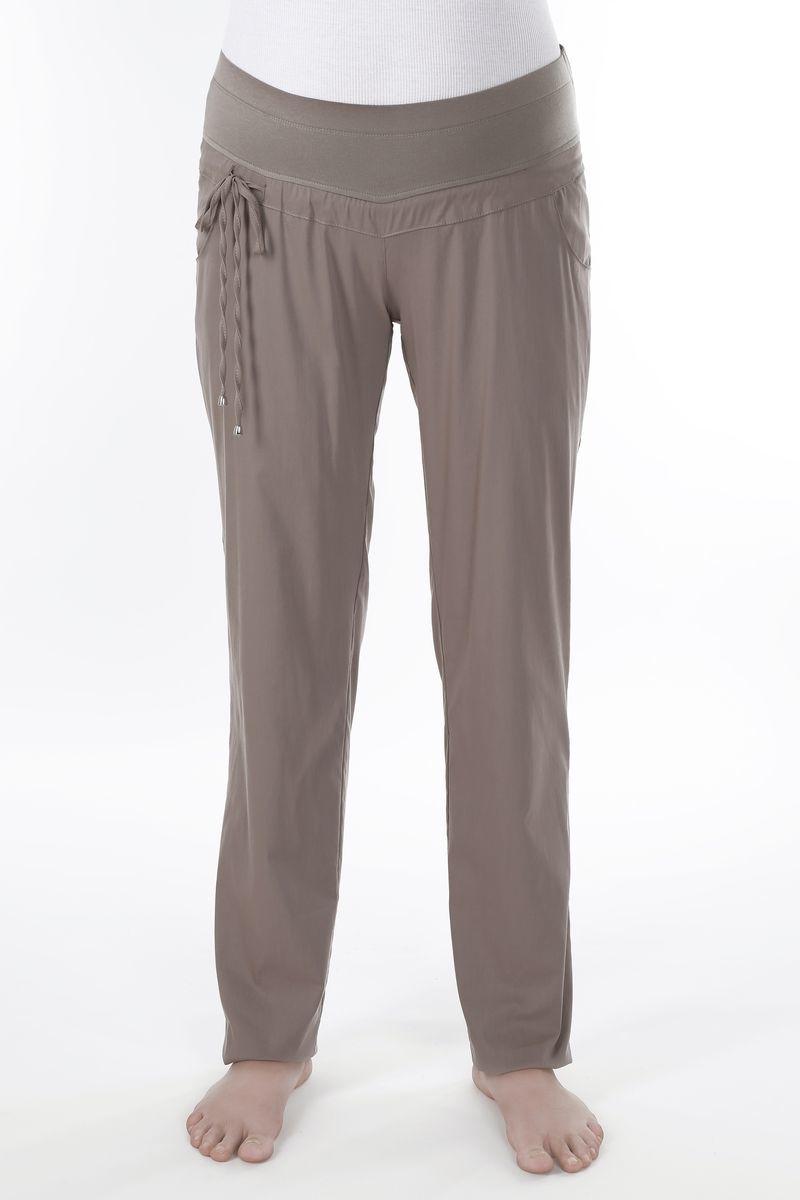 Спортивные брюки для беременных 08626 коричневый