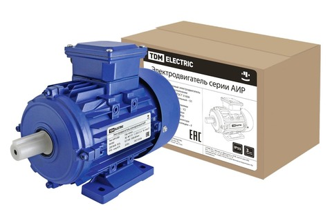 Электродвигатель АИР 63B4 0,37 кВт 1500 об/мин 1081