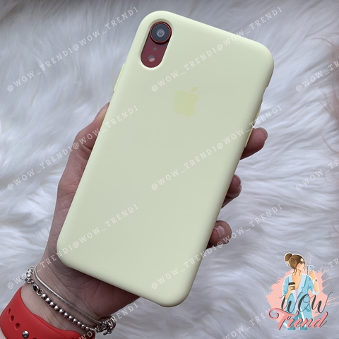 Чехол iPhone XR Silicone Case /mellow yellow/