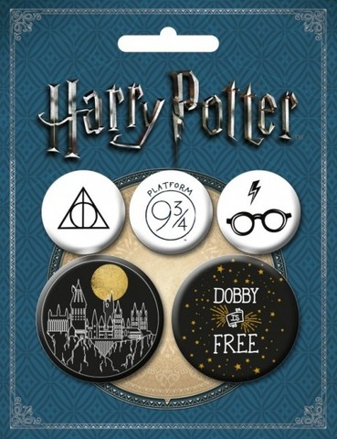 Набор значков Harry Potter: Арты