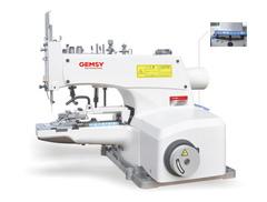 Фото: Пуговичная швейная машина Gemsy GEM 1377 D