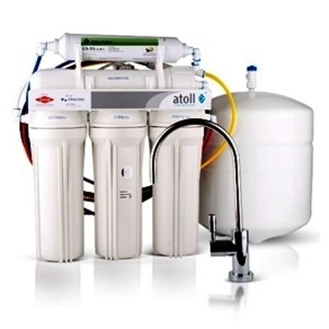 Система в/о бытовая atoll A-550m STD (A-560Em), (5 ступеней очистки с минерализатором, 230л/сутки)