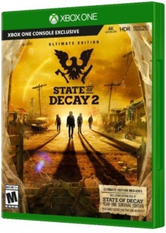 Xbox One State of Decay 2. Ultimate Edition (русские субтитры)