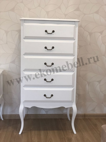 белый комод в стиле прованс фото